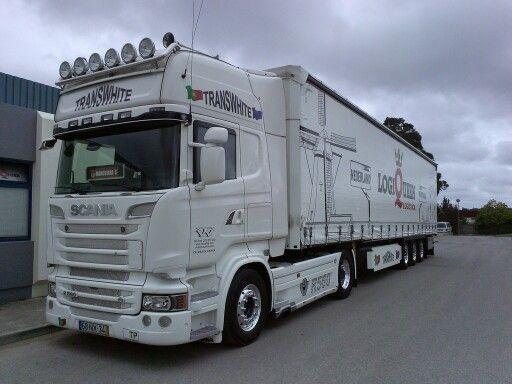 Transwhite / LogiQueen | ~ Scania ~ | Pinterest