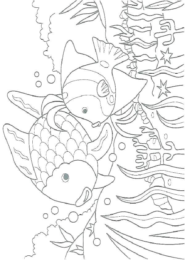 Printable Ocean Coloring Pages Seaweed Coloring Pages Printable