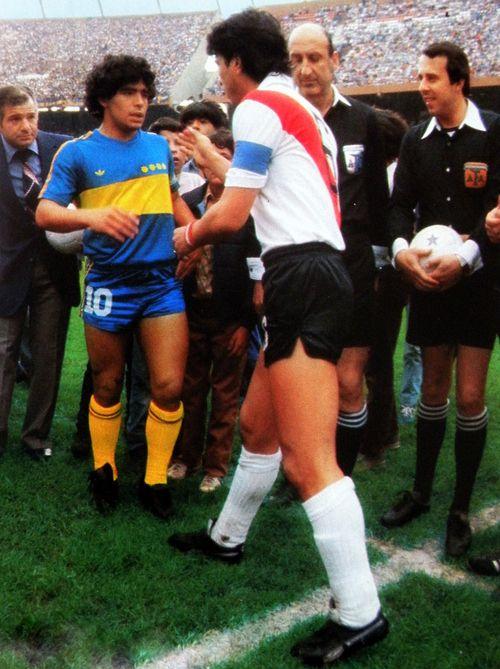 Daniel Passarella  Diego Maradona