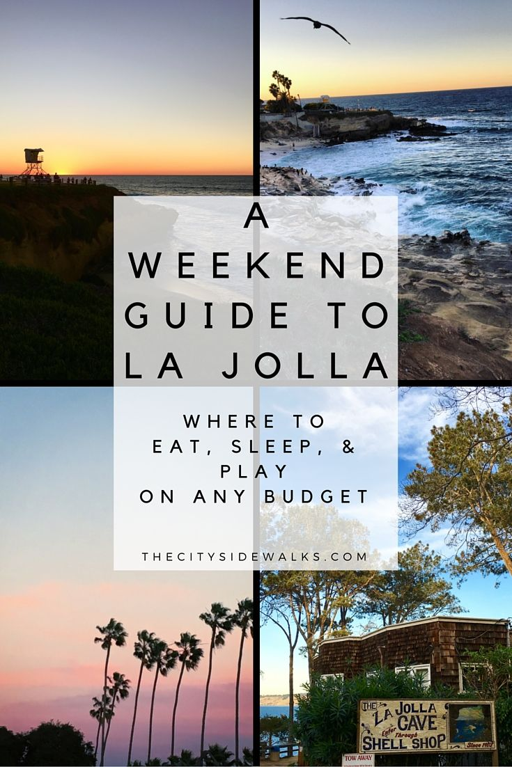 Scrumptious tacos, killer beach views, and luxurious accommodations... Find out where to eat, sleep, & play for a weekend in La Jolla!