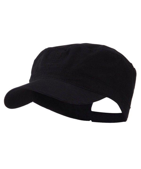 f394e6023b7 Big Size Adjustable Cotton Ripstop Army Cap Black (For Big Head)  C911E8U8YKD - Hats & Caps, Men's Hats & Caps, Baseball Caps #BaseballCaps # Hats #& #Caps ...