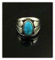 Kingman Turquoise Ring for Men