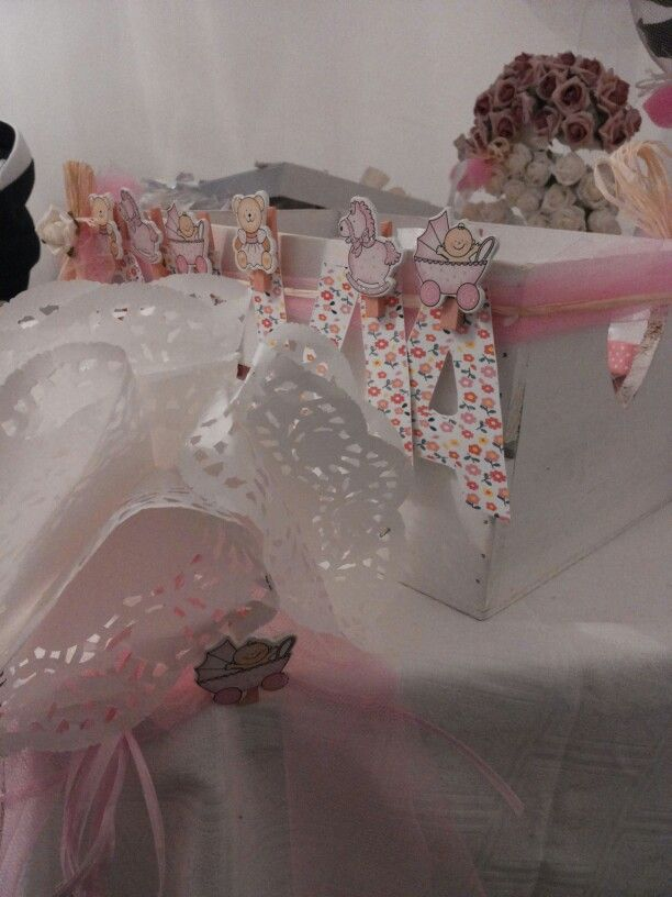 Decorazioni confettata country chic