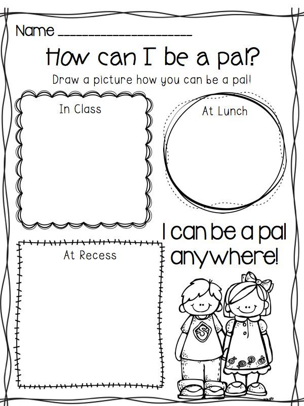 This could be incorporated into social skills, great to set first day…
