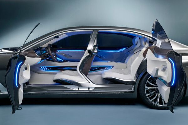 2014 BMW Vision Future Luxury Interior Images
