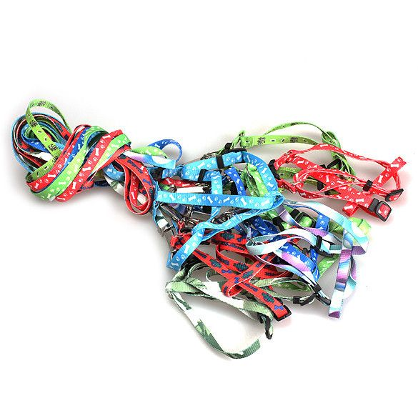 Brand New Nylon Pet Cat Doggie Puppy Leashes Lead Harness Belt Rope Hot Sell MGO3