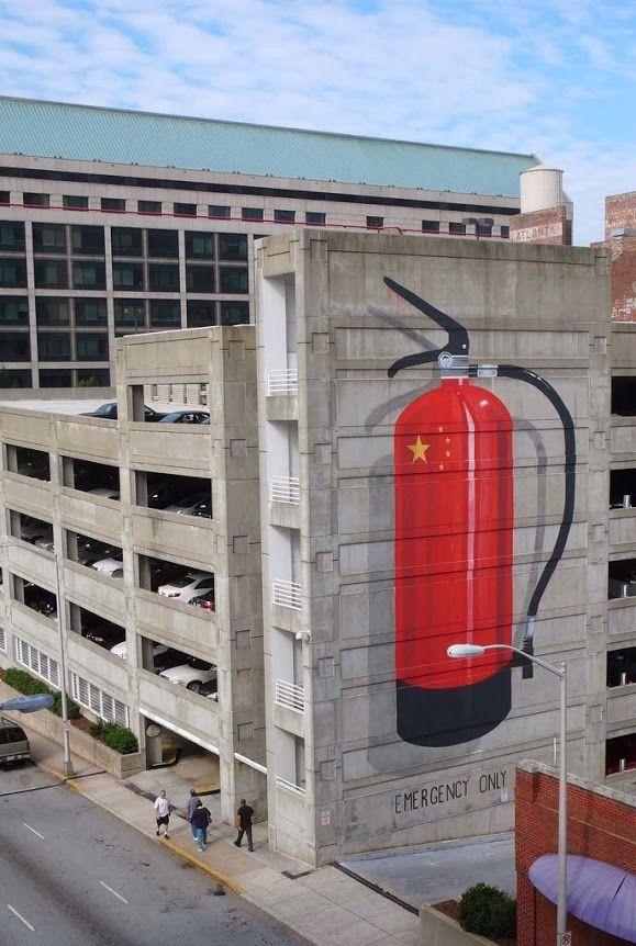 Escif in Atlanta, Georgia, USA #escif #atlanta #streetart http://prolabdigital.com/products-services/fine-art-digital-prints/wall-murals-wallpapers.html