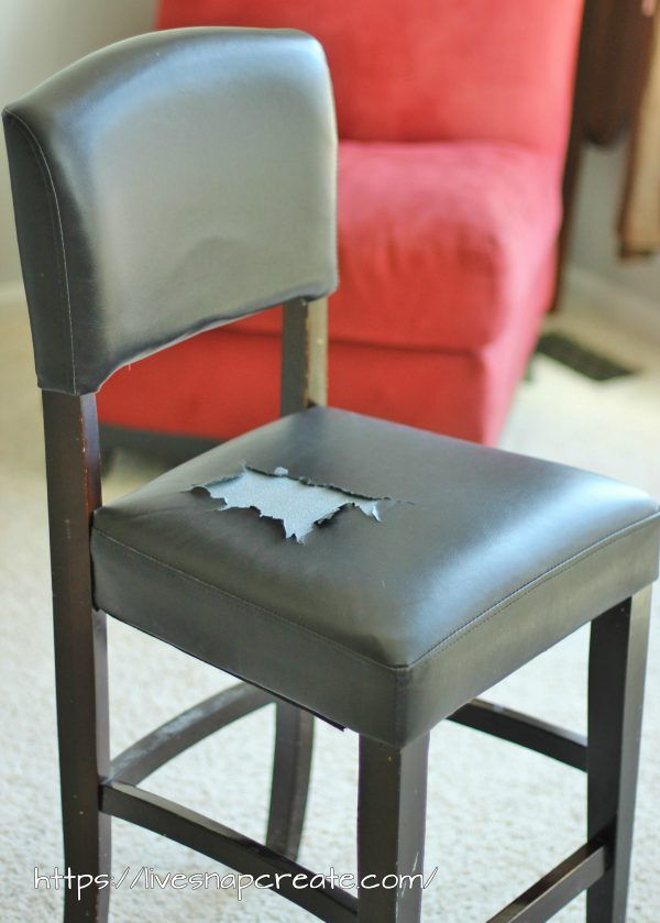 Admirable How To Recover Chair Cushions Recover Bar Chairs Leather Caraccident5 Cool Chair Designs And Ideas Caraccident5Info