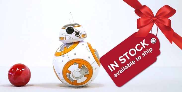 Holiday Grab Bag, White Elephant Gift Exchange, Stocking Stuffers & Gag Gift Ideas >> BB-8 – the app-enabled Droid™