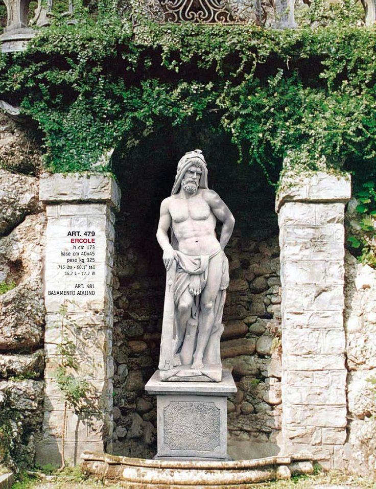 Ancient roman statues