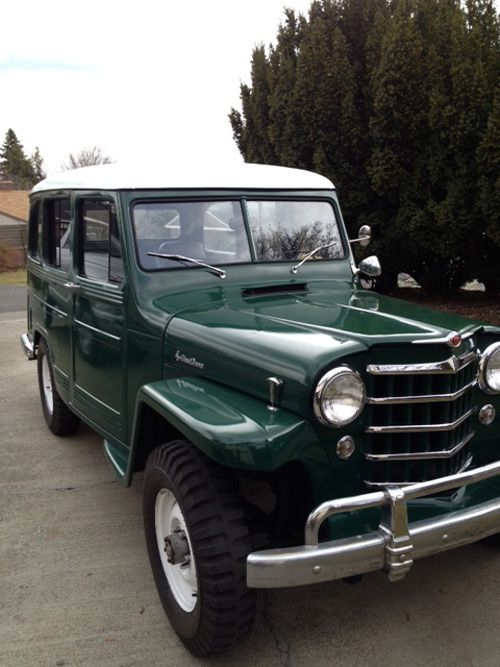 1951 #Willys Station Wagon - Photo submitted by Michael Kautzman #ClassicCar QuirkyRides.com