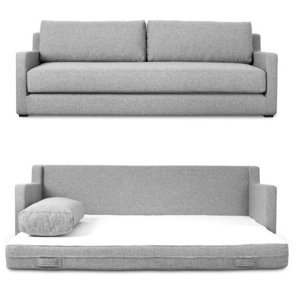 Flip Sofabed Design By Gus Modern 1 999 Liked On Polyvore Featuring Home Furniture Sofas Pull Out Sofa