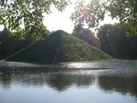 Wasserpyramide im Branitzer Park Cottbus