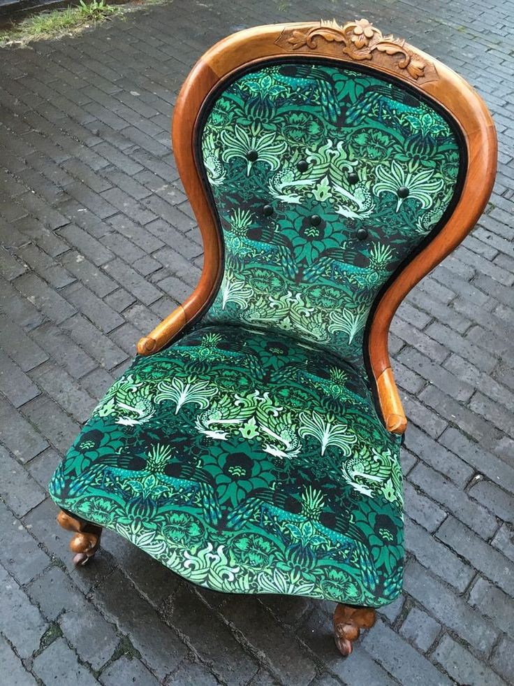 House Of Hackney x William Morris Nursing Chair in Antiques, Antique Furniture, Chairs | eBay