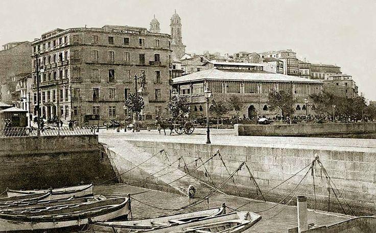 Hotel continental e mercado da laxe vigo pinterest hotels - Casa soto baiona ...