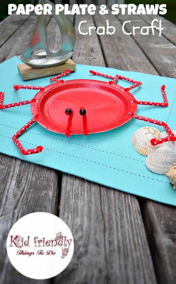 25 best paper plate crab ideas on pinterest crab craft