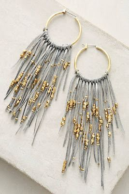 Anthropologie Favorites:: Jewelry No tutorial, just design to follow