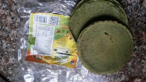 Tortillas de huazontle, chia y maíz. Deliciosas!  Brand called NUTRILLAS