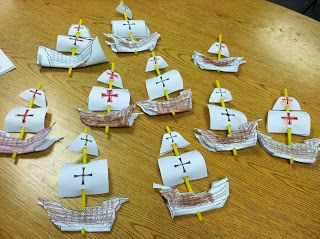 Columbus day activity with a great freebie!