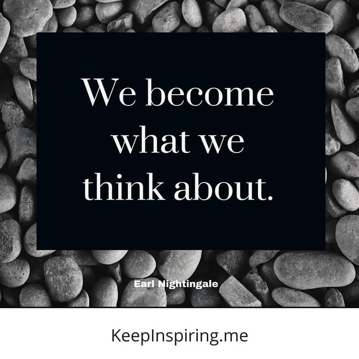 """Quotes And Images 2: """"We Become What We Think About."""""""