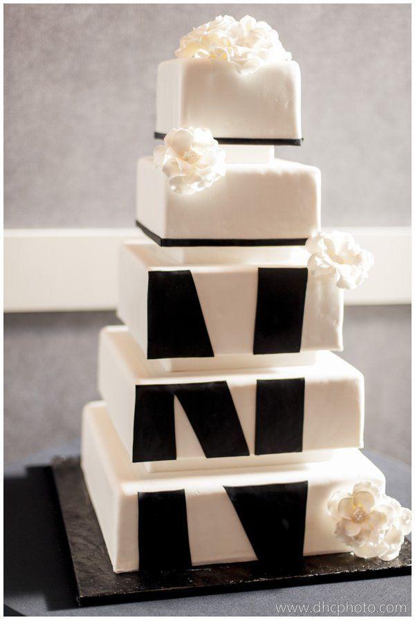 Black and White Wedding Cake 24 best