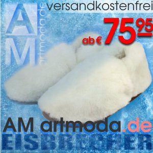 Das perfekte #Weihnachtsgeschenk: AM artmoda #Eisbrecher; feine #warme #Designer #Lammfell #Hausschuhe zu #Weihnachten!