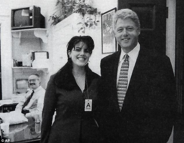 'I could take all my clothes off': Never-before-heard tape released of 'Monica Lewinsky pleading with Bill Clinton to meet her'