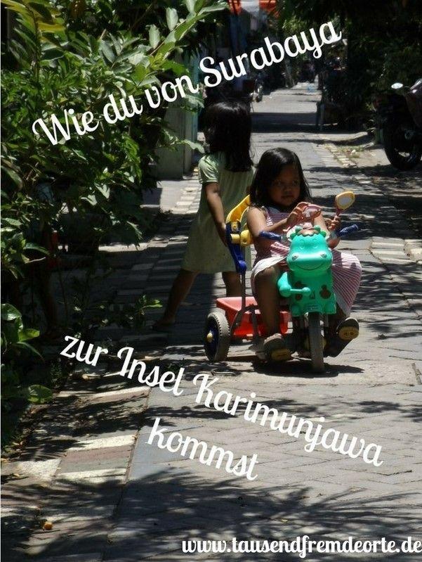 Karimunjawa - eine Trauminsel von Indonesien. Die Anreise dorthin ist ein kleines Abenteuer für sich.