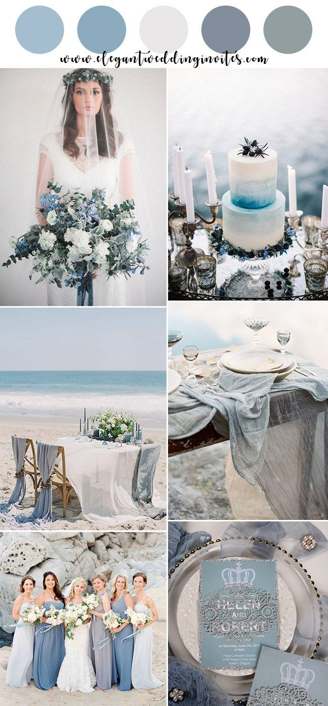 Top 10 Gorgeous Blue Wedding Color Combos For 2019 Blue Wedding