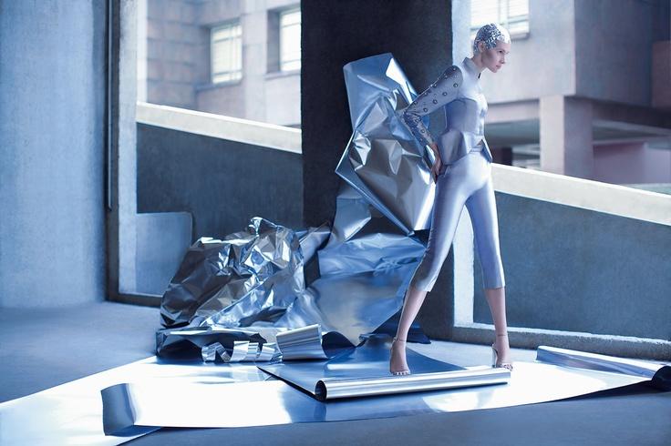Antiquated Modernity- Yosafat Dwi Kurniawan for Jakarta Fashion Week 2013  Photography: Rio Surya Prasetia Model: Juliette - perfect 10 Stylist: Zico Halim