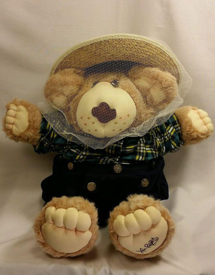 "Vintage Furskins Bear Bee Keeper 1985 Xavier Roberts Original 22"" Plush Doll   Dolls & Bears, Dolls, By Brand, Company, Character   eBay!"