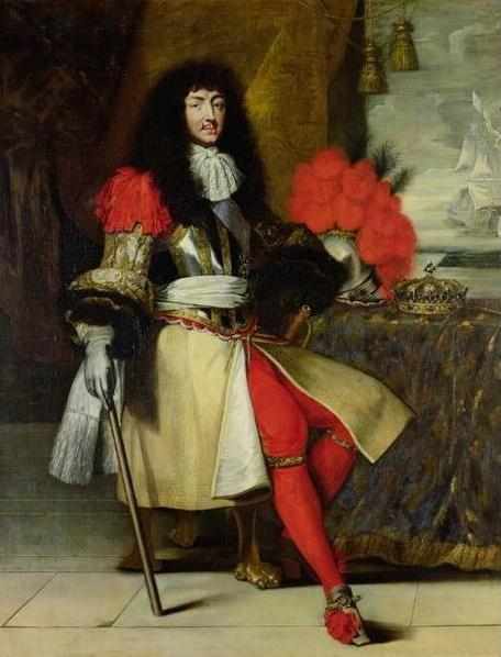 Lodewijk XIV werd op 5 september 1638 geboren in Saint-Germain-en-Laye en overleed op 1 september 1715 in Versailles. Hij was de leider van Frankrijk vanaf 1661 tot aan zijn dood. Hij was een absoluut vorst, dat houdt in dat hij helemaal alleen de macht had en aan niemand een verklaring af hoefde te leggen. Verder geloofde hij in het droit divin, het goddelijk recht, daarmee wordt bedoeld dat hij (en het volk ook) denken dat hij zijn macht van God heeft gekregen.