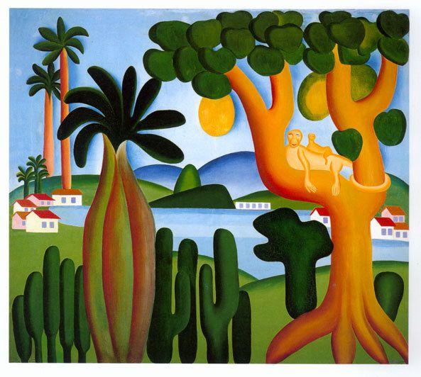 Tarsila do Amaral  Obra: Cartão Postal