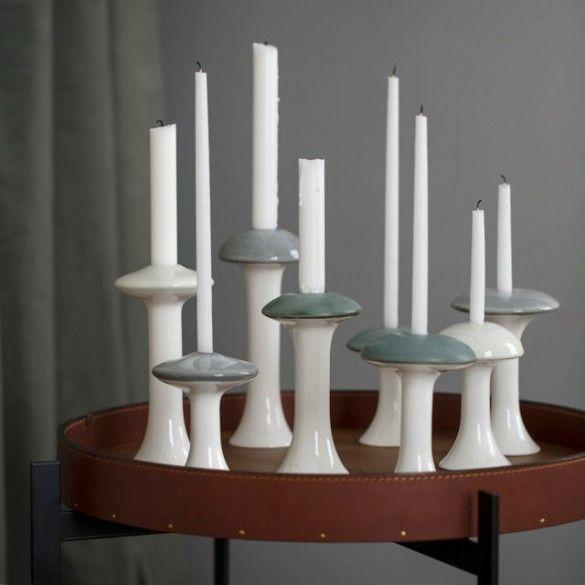 Ahlmann Candle Holder Grey Large / Ahlmann / Series