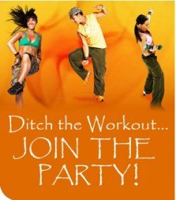 100 free zumba workouts - including short clips explaining the basic steps before moving on to more challenging sequences.