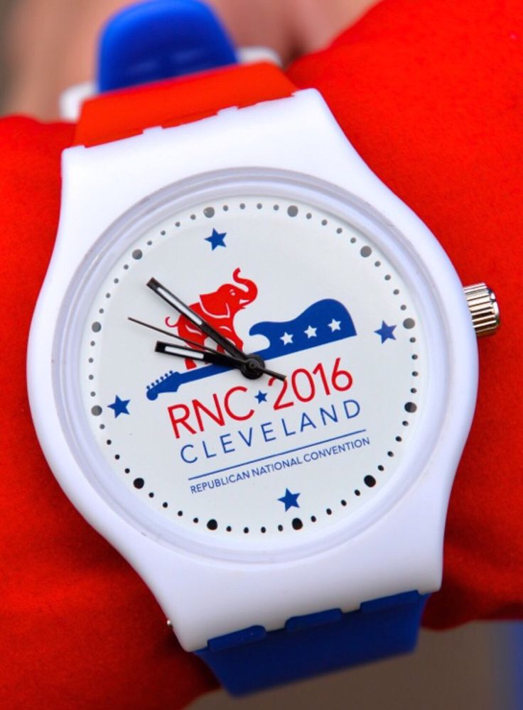 A personal favorite from my Etsy shop https://www.etsy.com/listing/398104121/2016-rnc-cleveland-official-logo