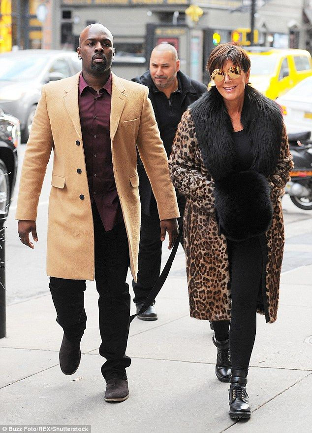 Let's go see Kanye! Kris Jenner, 60, took her much younger beau Corey Gamble, 35, to visit...