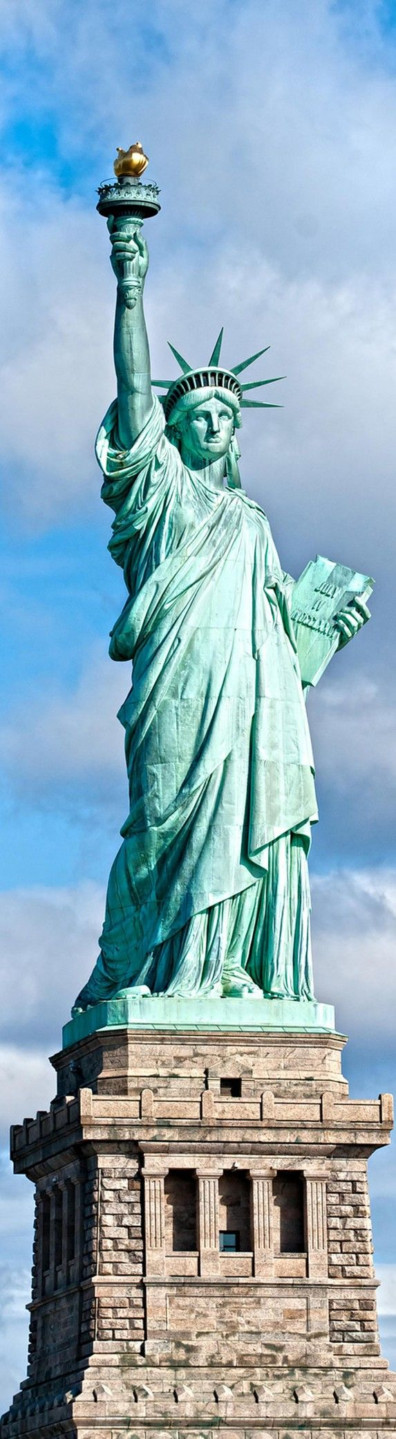 Statue of Liberty, NYC,NEW YORK,USA.  2017 - our leader says, we don't want you unless you're European, white and have money...ummm