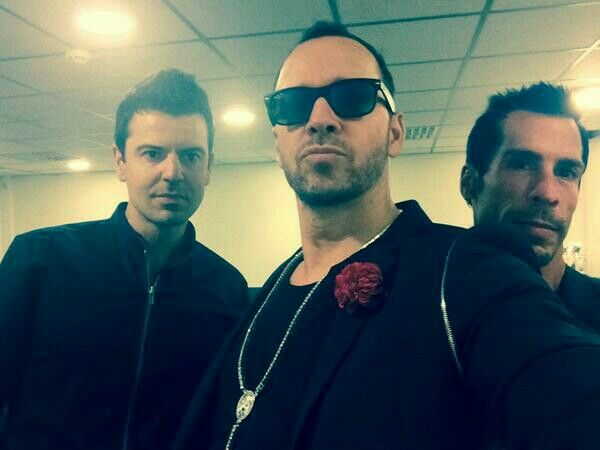 Jordan Knight, Donnie Wahlberg, and Danny Wood