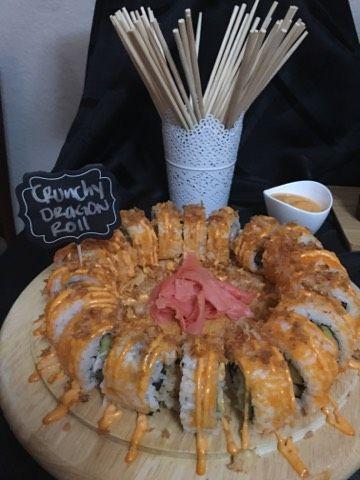 Sushi, dragon roll