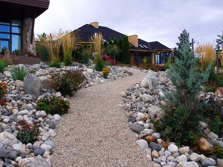 44 best Front Yard Xeriscape images on Pinterest ... on Xeriscape Backyard Designs id=60282