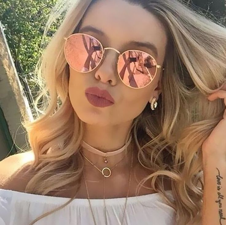 Like and Share if you want this  Women's Sunglasses (Rose Gold)     Tag a friend who would love this!     FREE Shipping Worldwide     Get it here ---> https://www.accessory.sg/2017-classic-round-sunglasses-women-men-brand-designer-sun-glasses-for-women-alloy-mirror-sunglasses-ray-female-oculos-de-sol/    #dresses