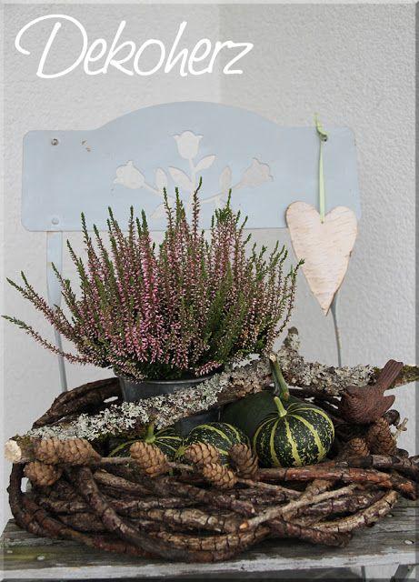 Ber ideen zu grab dekoration auf pinterest for Dekoration herbst