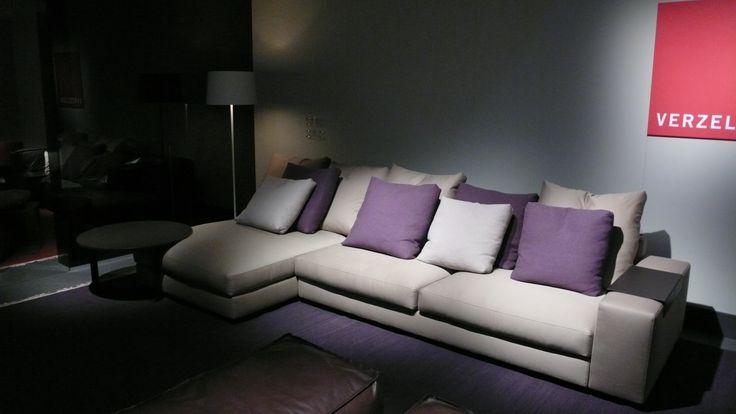 Cream and purple at Salone del Mobile 2009