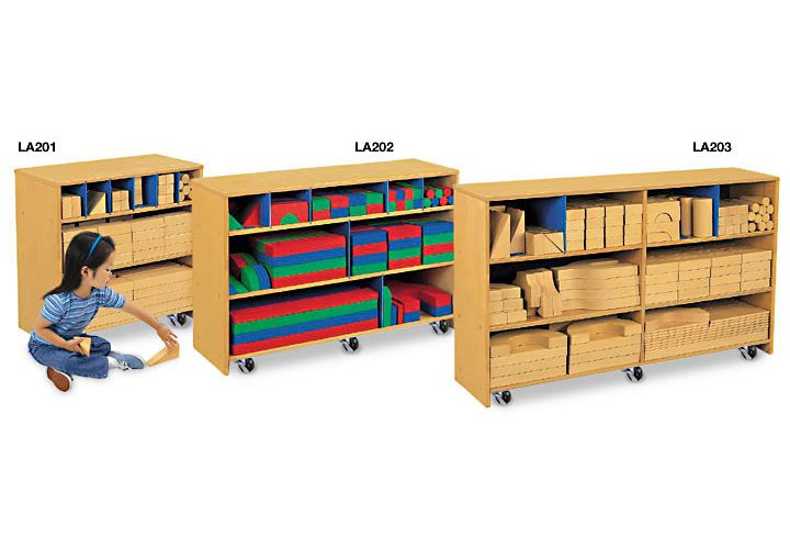 Classroom Designer Lakeshore Learning Materials ~ Starter block set storage cabinet lakeshoredreamclassroom