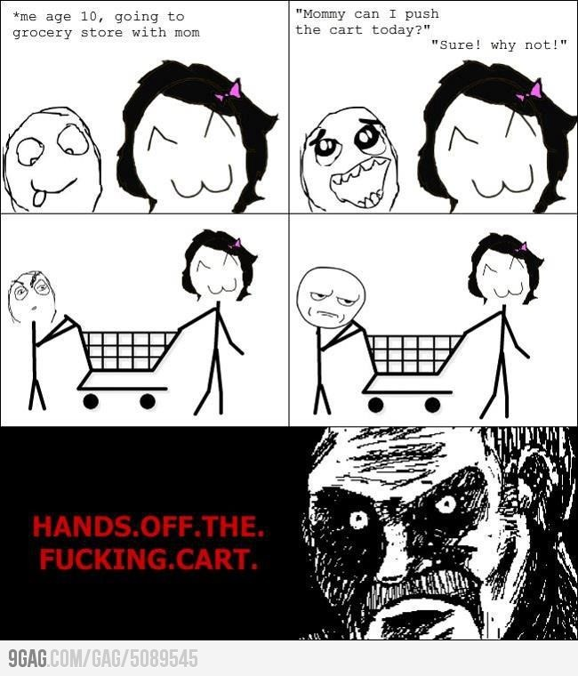 I said let goDamn Carts, Funny Pictures, Funnypictures, Mad Funny, Funny Stuff, Kids Survivor, Shops Carts, Funny Memes, Amusement Things