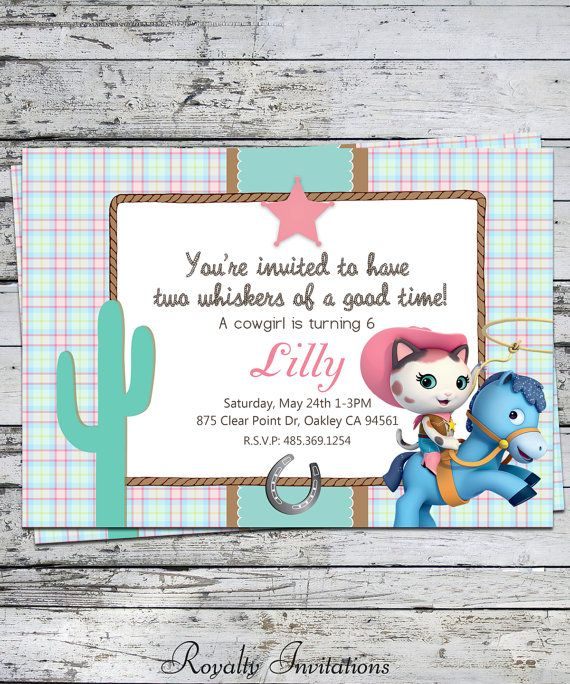 Disney Sheriff Callie's Wild West Birthday by RoyaltyInvitations, $5.00