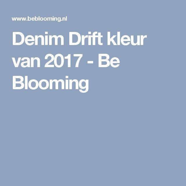 Denim Drift kleur van 2017 - Be Blooming