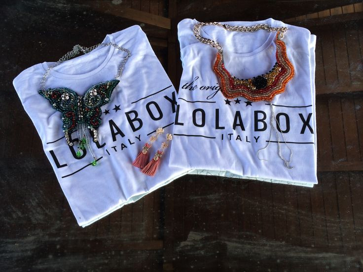 tshirt LOGO LOLABOX YOUR NAME and THE ORIGINAL