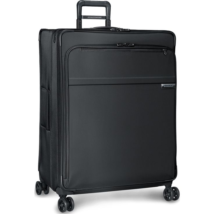 Briggs & Riley Extra Large Expandable Spinner Suitcase   Black